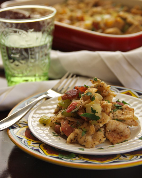 foodie fridays: bacon, apple, and fennel naan stuffing - Climbing ...