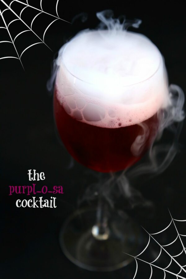 the purpl-o-sa cocktail www.climbinggriermountain.com