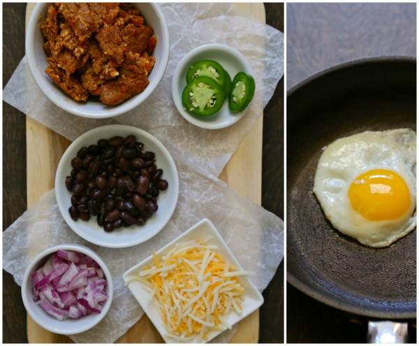 cheesy breakfast nacho tots www.climbinggriermountain.com