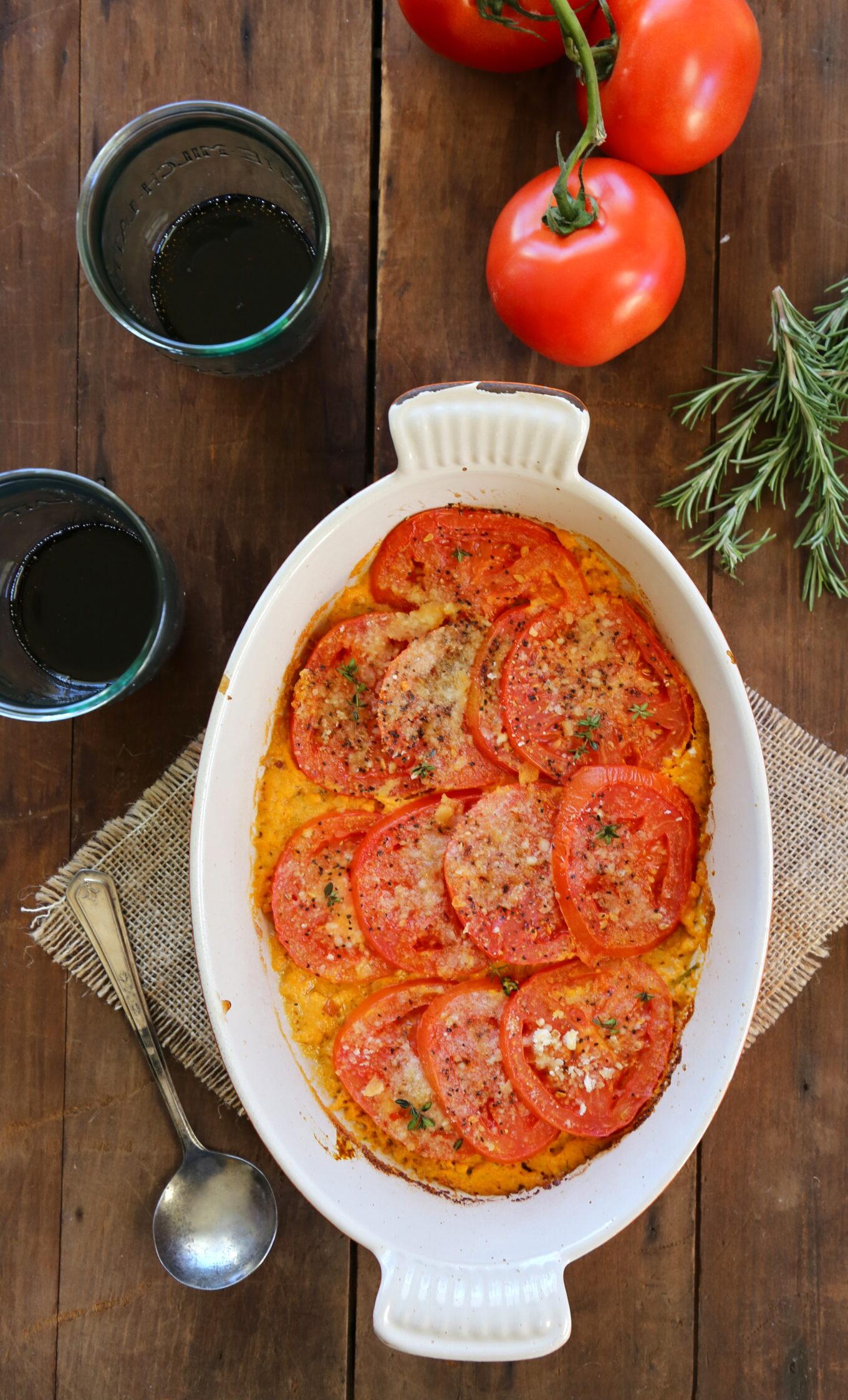 Spiced Tomato Gratin Recipe — Dishmaps