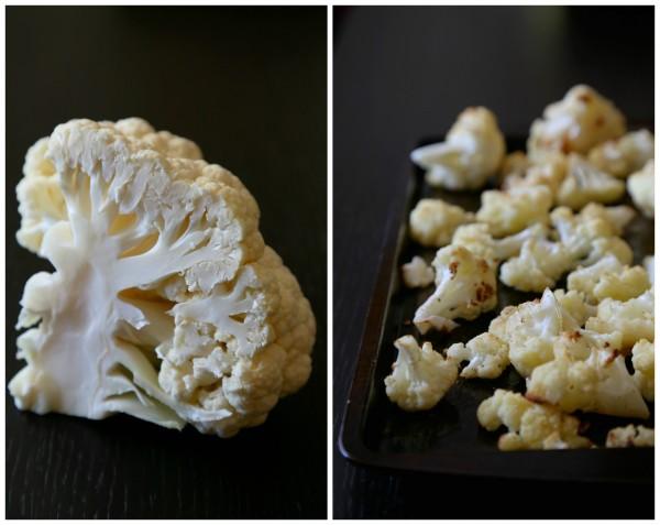 spiced cauliflower spread with naan chips www.climbinggriermountain.com