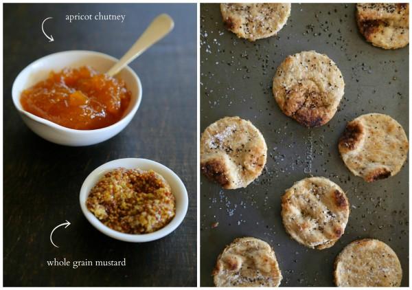 apricot chutney whole grain mustard