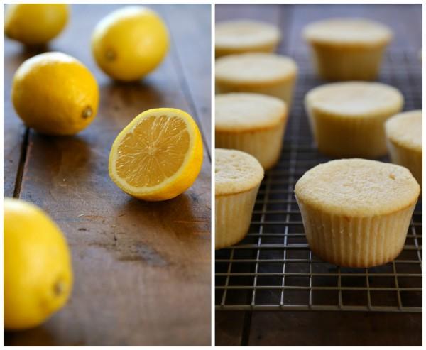 mini lemon pound cake sundaes with honey-bourbon whipped cream