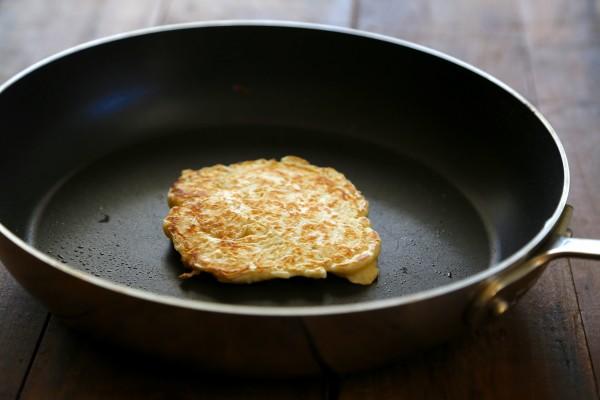 sourdough pancakes with fresh ricotta & mustard-maple glaze