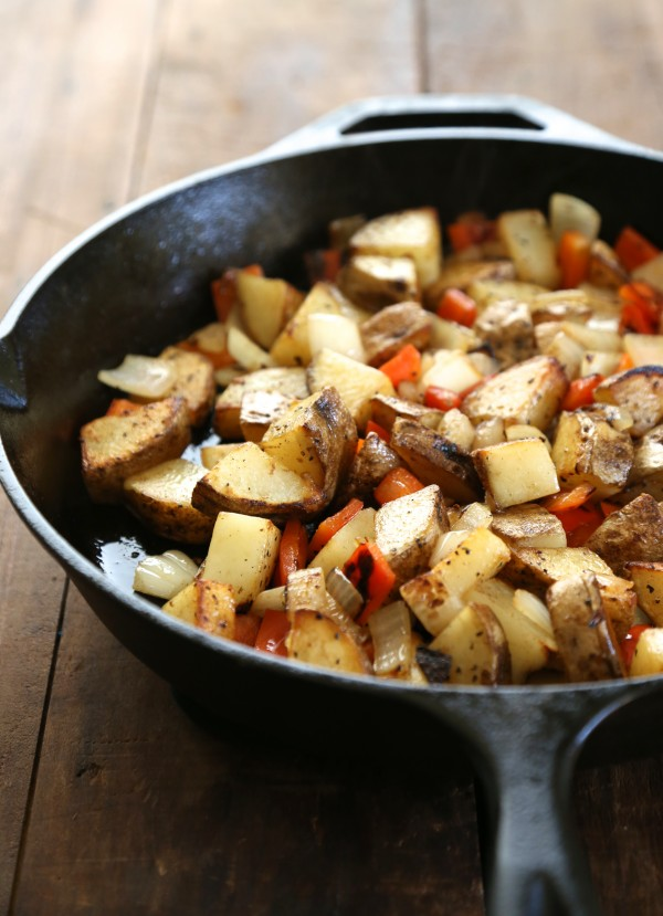 patatas braves (a.k.a. home fries) with chipotle cream