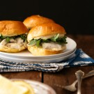 barramundi sliders with honey and lemon saffron aioli www.climbinggriermountain.com
