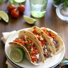 spicy lamb tacos with harissa pico de gallo one