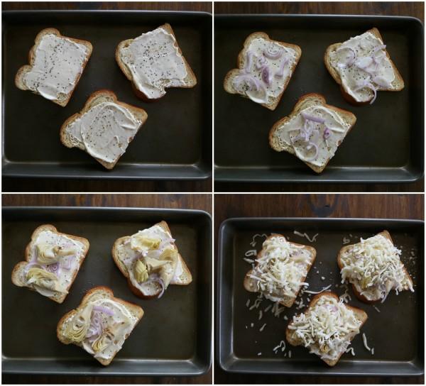 artichokes sandwiches