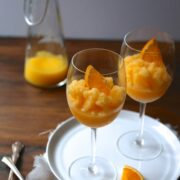 orange-peach mimosa slushies www.climbinggriermountain.com