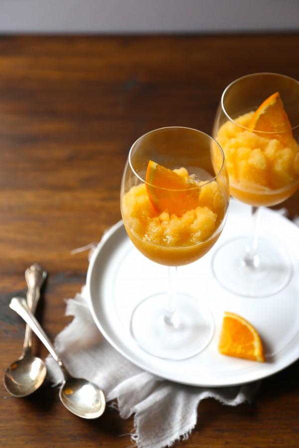 orange-peach mimosa slushies www.climbinggriermountain.com