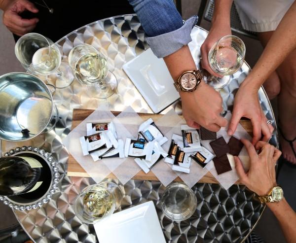 wine & chocolate pairing party www.climbinggriermountain.com