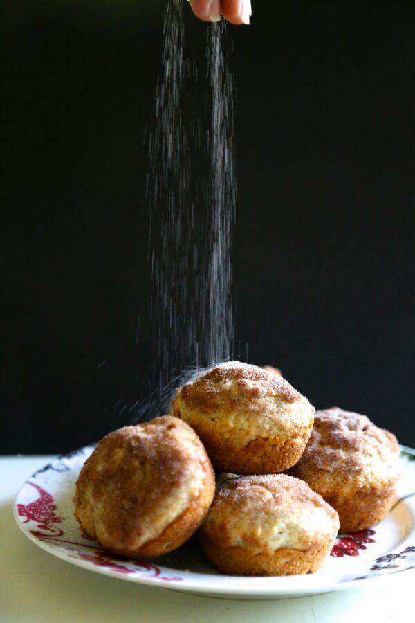 Simple French Breakfast Muffins with Cinnamon Sugar  www.climbinggriermountain.com