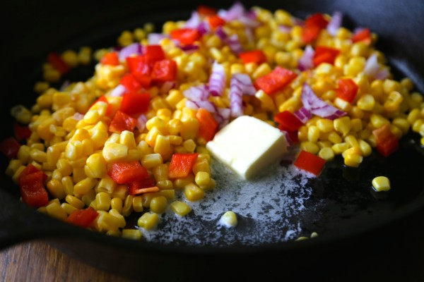 thai-glazed skillet corn