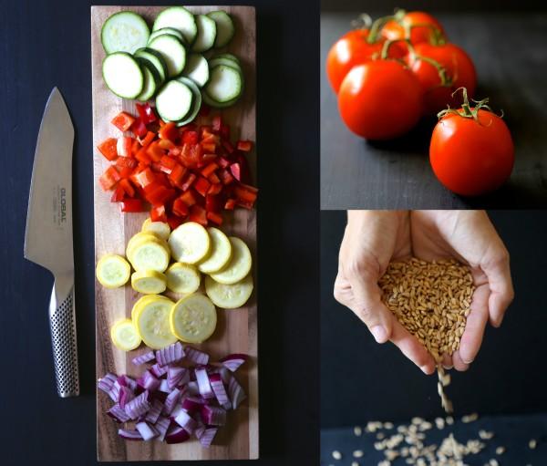 tomato and squash gratin