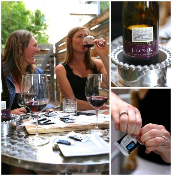 wine & chocolate pairing party Pinot Noir