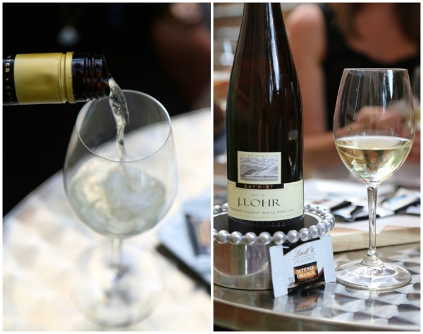 wine & chocolate pairing party White Riesling