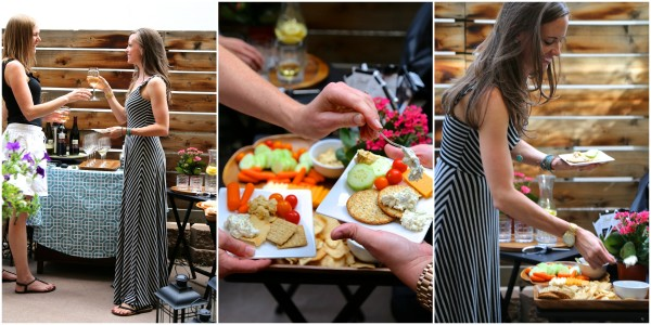 wine & chocolate pairing party trio appetizers www.climbinggriermountain.com