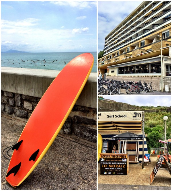 biarritz france surf lesson