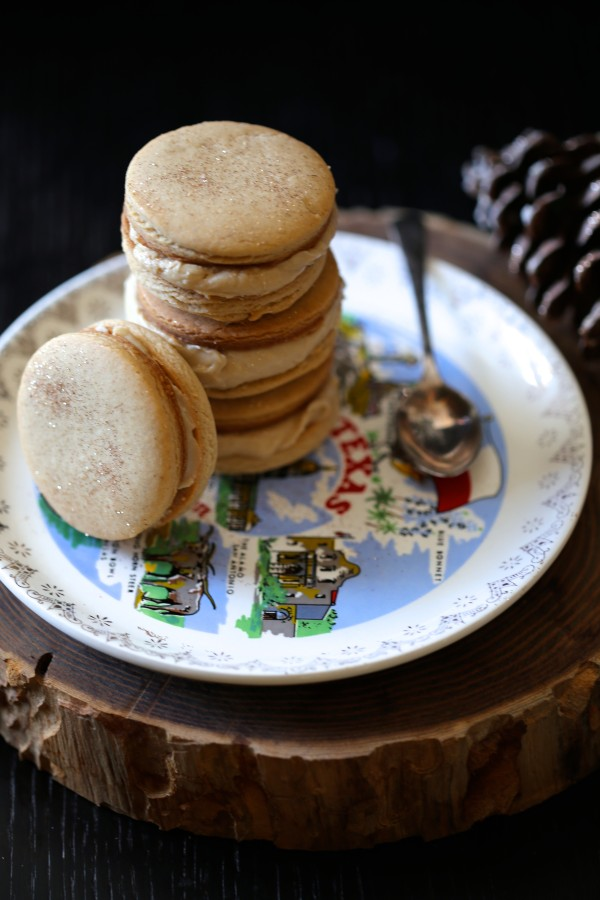 brown sugar & spice cookie sandwiches with brown butter icing www ...