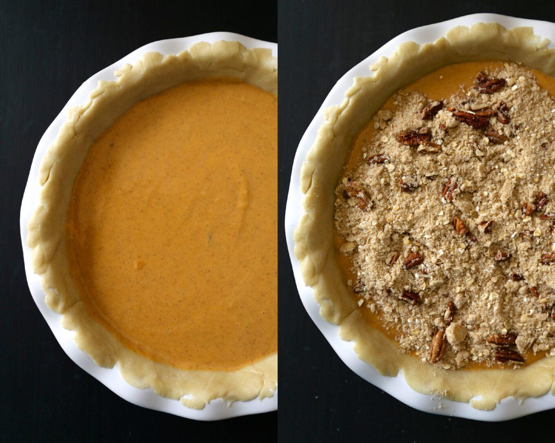 foodie fridays: bourbon pumpkin pie with cinnamon pecan ...