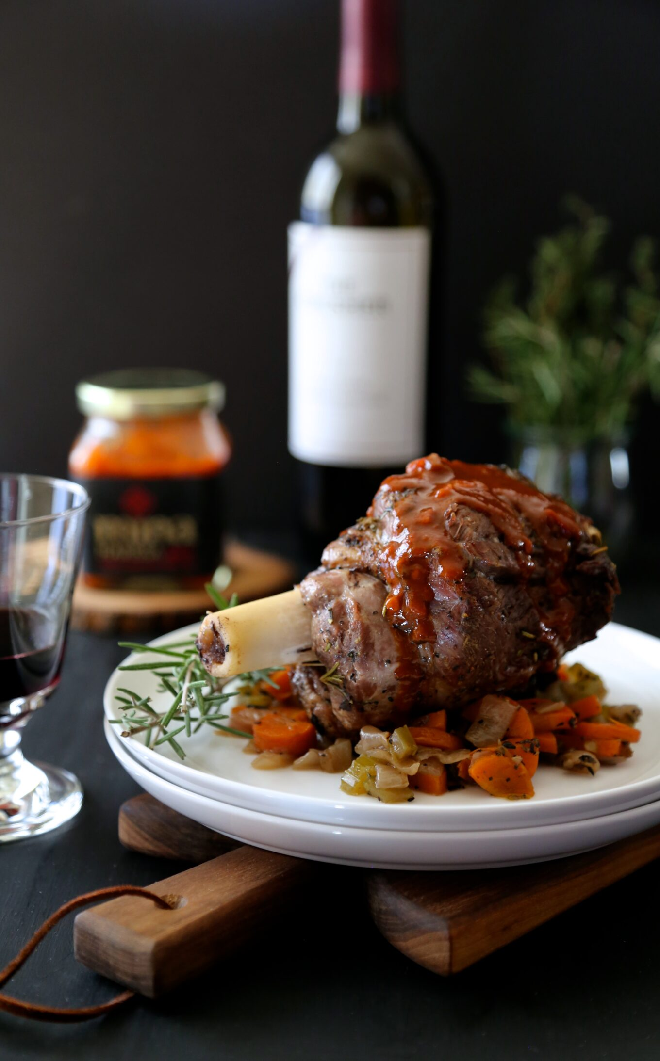 how to cook lamb shanks without wine