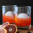 blood orange whiskey negroni www.climbinggriermountain.com