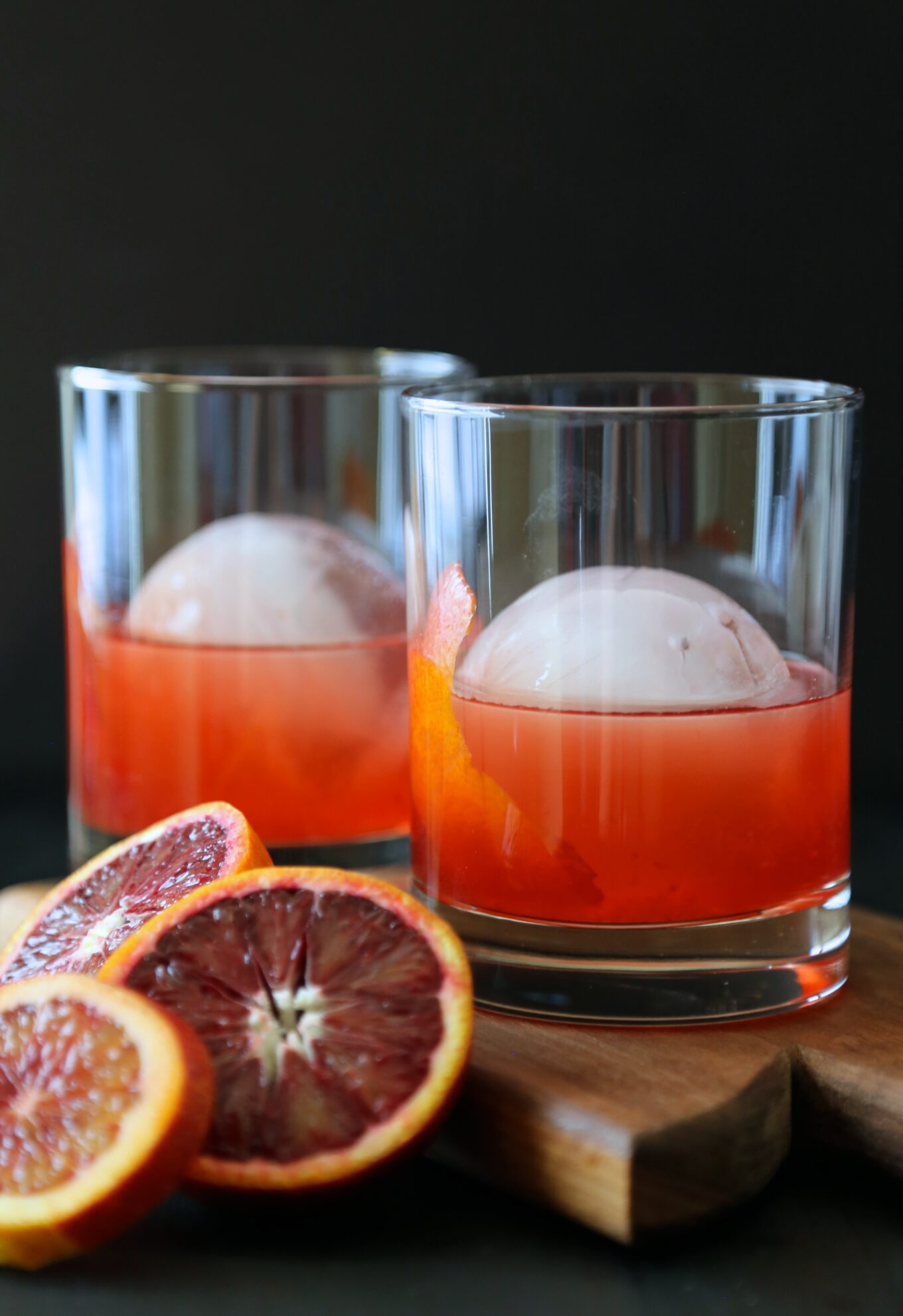 Blood orange whiskey negroni climbing grier mountain for Cocktail orange