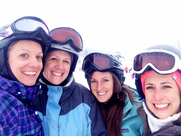 trip recap: girls' ski weekend getaway at deer valley www.climbinggriermountain.com