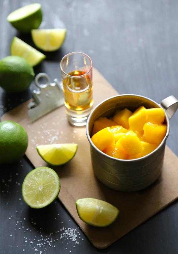mango-ginger bourbon spice freeze www.climbinggriermountain.com