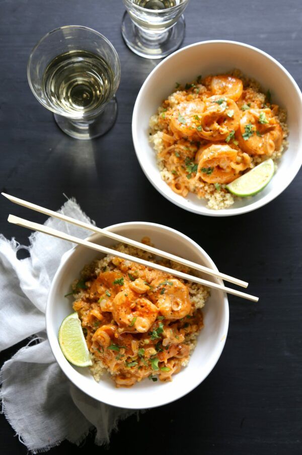 Thai Shrimp Scampi Quinoa Bowls -- plus 20+ other AMAZING quinoa bowl ...