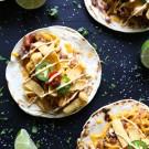 beef & chorizo chili cheese tacos with chipotle mayo