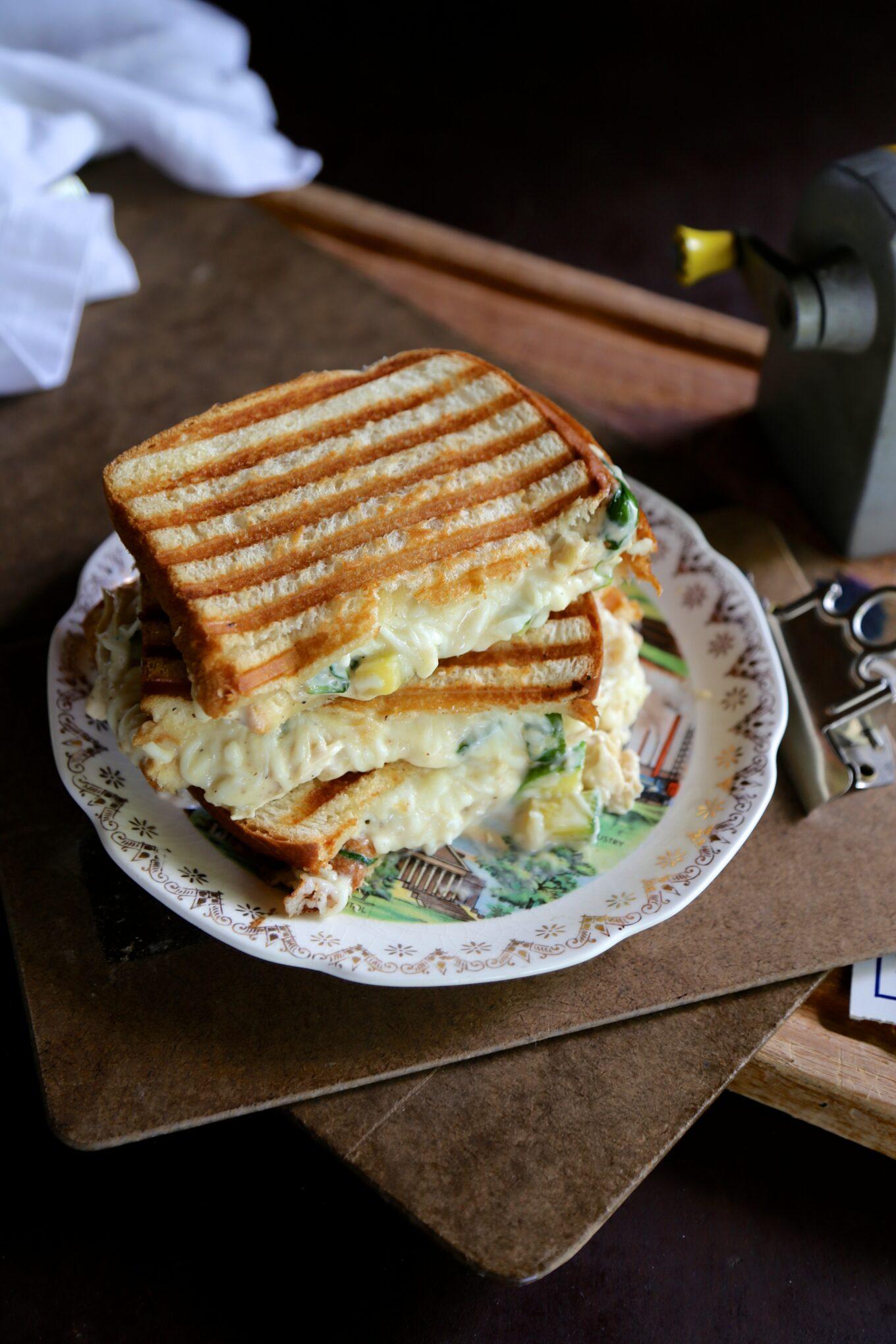 Greek Yogurt Chicken Alfredo Grilled Cheese Www Climbinggriermountain Com 1