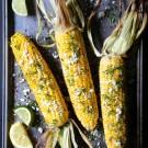 grilled shawarma corn with fresh dill www.climbinggriermountain.com