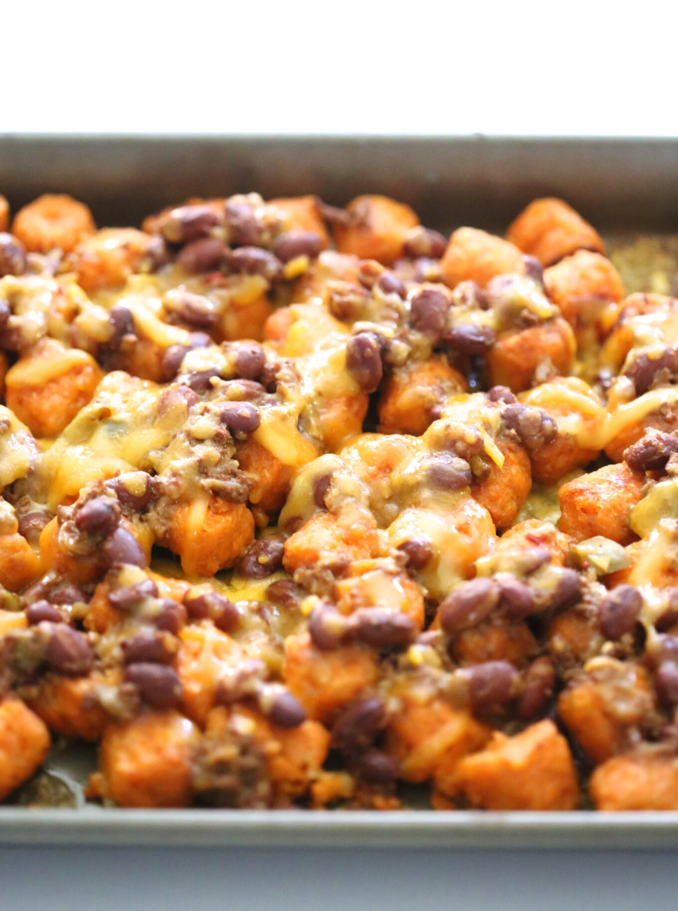 ultimate sweet potato totchos with chipotle aioliClimbing Grier