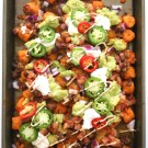 Ultimate Sweet Potato Totchos with Chipotle Aioli www.climbinggriermountain.com I