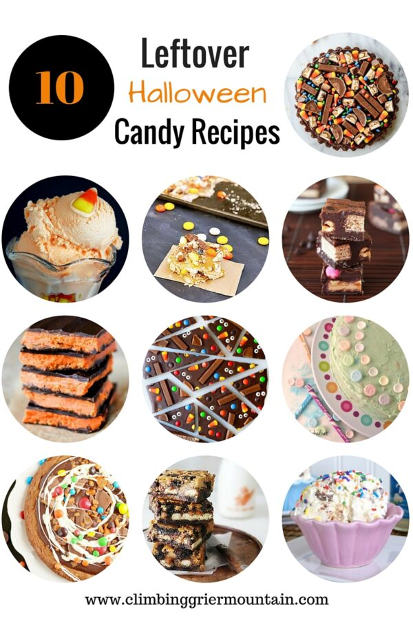 10 Leftover Halloween Candy Recipes www.climbinggriermountain.com