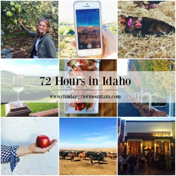 72 Hours in Idaho www.climbinggriermountain.com