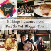 five things i learned from pass the pork blogger tour www.climbinggriermountain.com