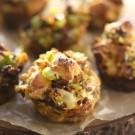 Chorizo & Brussel Sprout Stuffing Muffins www.climbinggriermountain.com I