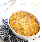 Smoked Sausage and Spinach Tater Tot Breakfast Bake www.climbinggriermountain.com II