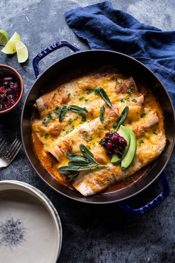Green-Chile-Butternut-Squash-and-Turkey-Enchiladas-with-Crispy-Sage-4