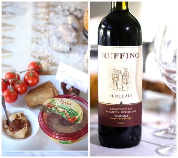 how to host a hummus & wine pairing party garden tuscan www.climbinggriermountain.com