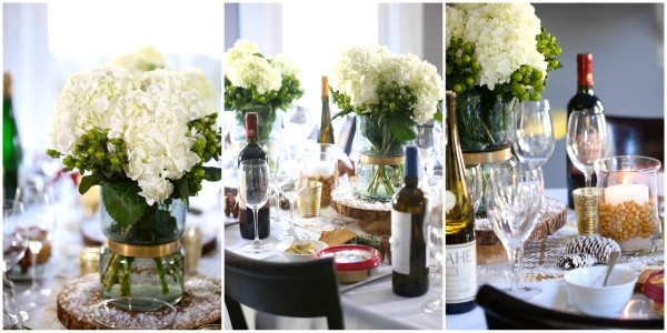 how to host a hummus & wine pairing party table