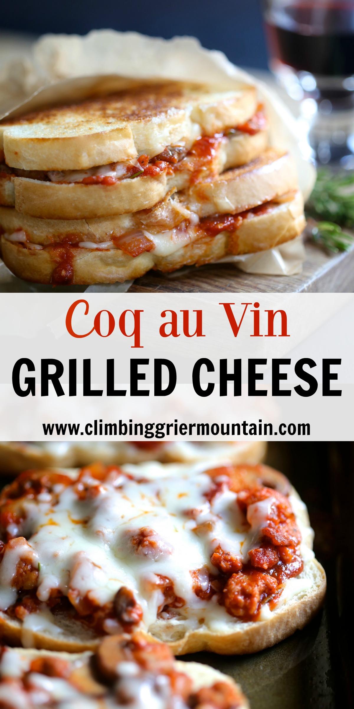coq au vin grilled cheese II www.climbinggriermountain.com