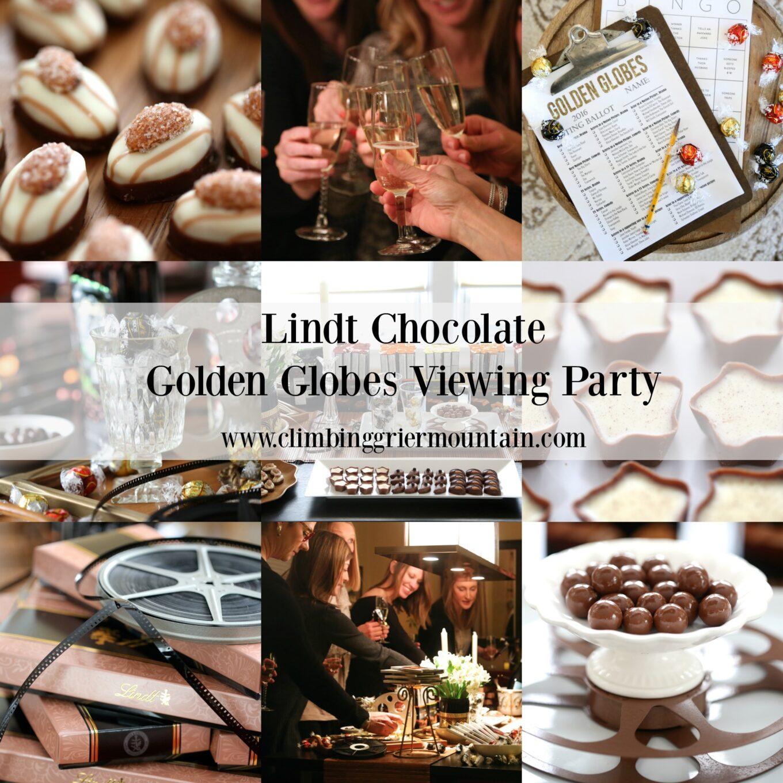 Lindt Chocolate Golden Globes Viewing Party Recap Climbing Grier Mountain