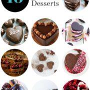 10 Heart-Shaped Chocolate Dessert Recipes www.climbinggriermountain.com