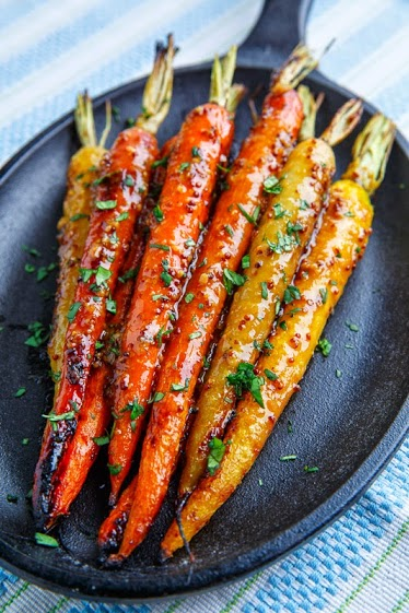 Maple-Miso Dijon Roasted Carrots 800 3122