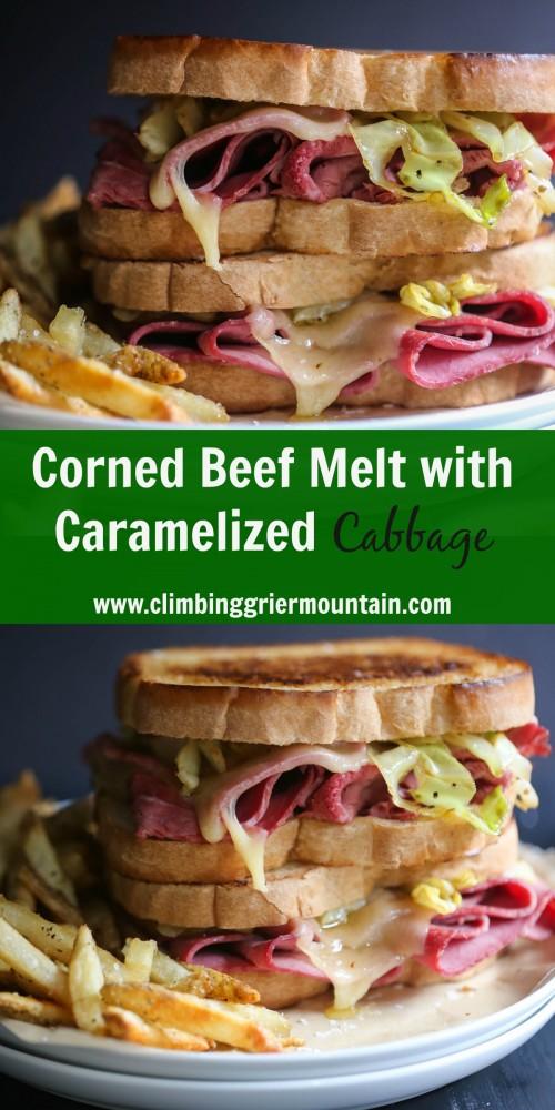 corned beef melt www.climbinggriermountain.com