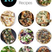 ten sassy spring pizza recipes www.climbinggriermountain.com