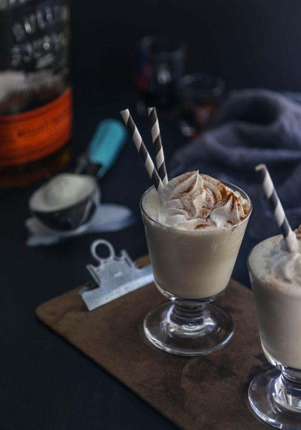 Dirty Chai Bourbon Vanilla Milkshakes www.climbinggriermountain.com II